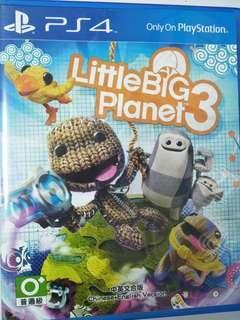 PS4 Little Big Planet 3 小小大星球3