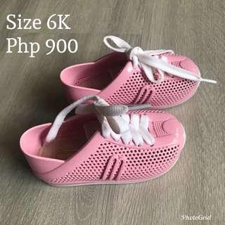 Mini Melissa Pink Sneakers
