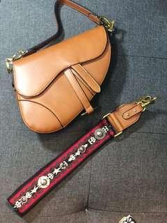 Dior Saddle Brown☑️ Ready Stock☑️ Premium 1:1