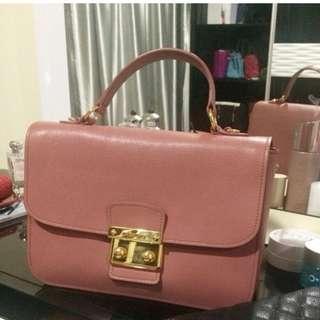 Miu Miu Madras Top Handle Crossbody Leather Handbag Authentic, RRP$1830, FREE POSTAGE!