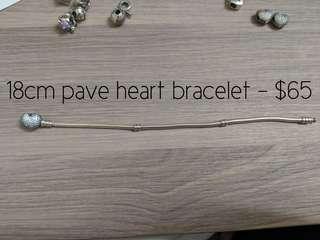 Authentic Pandora charms and bracelet