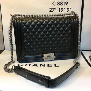 Chanel LeBoy SHW 27cm ☑️ Ready Stock☑️ Premium 1:1