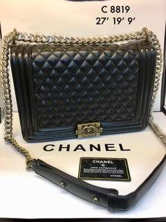 Chanel Leboy Brass GHW 27cm☑️ Ready Stock☑️ Premium 1:1