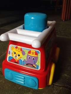 Fire truck press and go - Toys r us