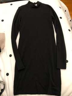 M long sleeve bodycon dress (short)