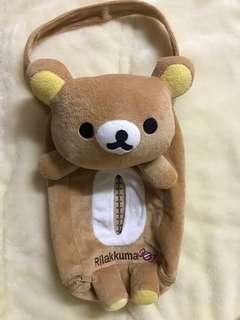 San-x 鬆弛熊 Rilakkuma紙巾盒袋