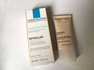 La Roche Posay BB Blur Effaclar Fair light shade bb cream sunscreen foundation bb cream mousse mat matte finish base
