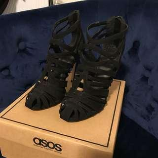 ASOS caged heels