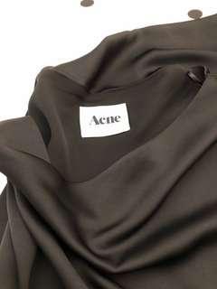 Off-shoulder ACNE dress
