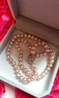 Peral necklaces