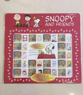 Snoopy Stamp Set