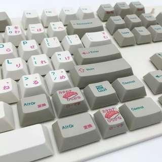 🚚 EnjoyPBT Sushi Keycaps [117 keys]