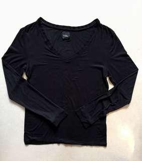 ZARA V Neck Fitted Sweater