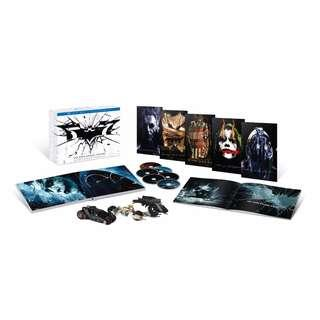 Batman The Dark Knight Trilogy Ultimate Collectors Edition Blu-Ray Set Brand New Sold Out Lots of Extras