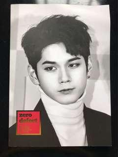 [WTS] WANNA ONE ONG SEONGWU PHOTOBOOK (BLUE FOREST EXHIBITION PB]