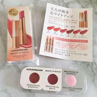 2x Covermark 水漾光綻唇膏 Bright Up Rouge Sampler