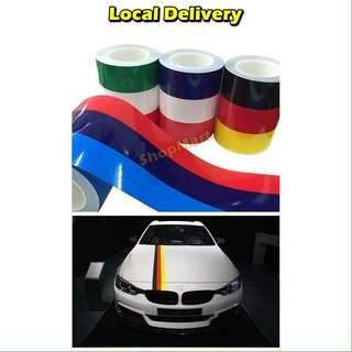 Car sticker country Germany Italy France BMW myvi Honda sticker