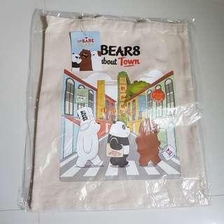 We Bare Bear Tote Bag