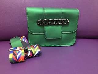 Cute Emerald Green Handbag