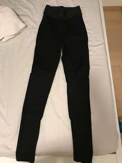 Zara 黑色長褲 legging
