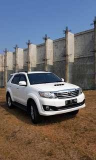 Toyota Fortuner G VNT 2.5 Diesel AT 2013 Putih