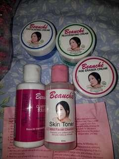 BEAUCHĖ SKIN PRODUCTS (price for all)