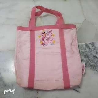 [USED] PINK PANTHER BABY BAG