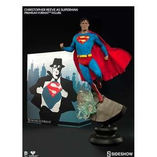 Sideshow Exclusive DC Comics Superman Christopher Reeve Premium Format Statue BNIB Limited to 500 SOLD OUT
