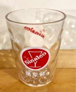 Vintage Sinalco Glass