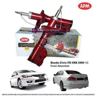 Honda Civic SNA 2006~11 APM Performax Sport Shock Absorbers