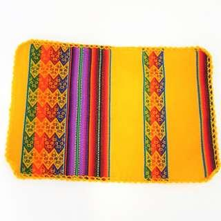 Placemate - Andean Design Yellow
