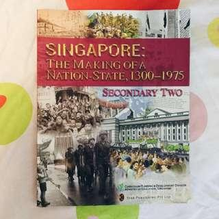 [BN] Secondary 2 History Textbook