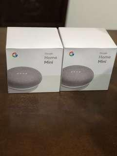 Google Home Mini x2 sets