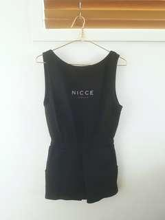 Nicce London Jumpsuit Overall Size S Like New Onepiece Blogger