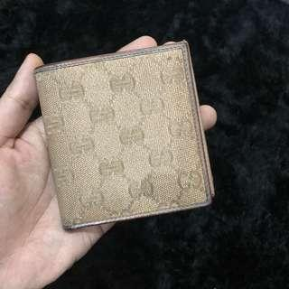 Original Gucci Bi fold Wallet