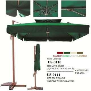cantilever pool umbrella