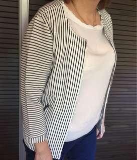 Simply Y.A.S. Pin Striped Blazer
