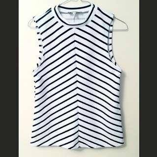 💛Miss Shop Stripe Top