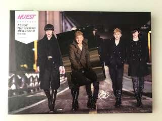 NU'EST SECOND MINI ALBUM [includes photocard]