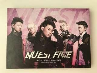 NU'EST FACE [THE FIRST SINGLE FACE]