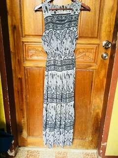 AZTEC MAXI DRESS (freesize)