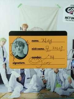 (WTT) Jisung crew card