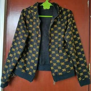 *SALE* 200 Hoodie Black Jacket with Glitters style