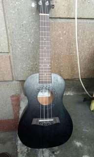 S>brand new acar concert mahogany ukulele color brown & black.