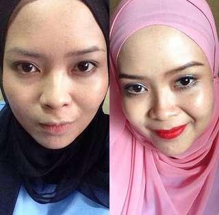 Makeup Service RM50