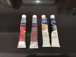 Winsor and Newton Cotman watercolor 8ml tubes