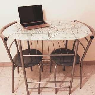 Dining Table 蝸居必備!可拆式收藏!外國鐵路圖