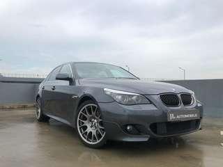 BMW 520I XL Car Rental luxury PROMO good deal