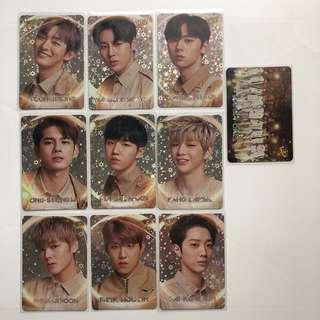 Wanna One Yes! Card 專輯卡 閃卡