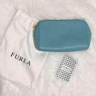 Furla cosmetic pouch (ori/auth only)